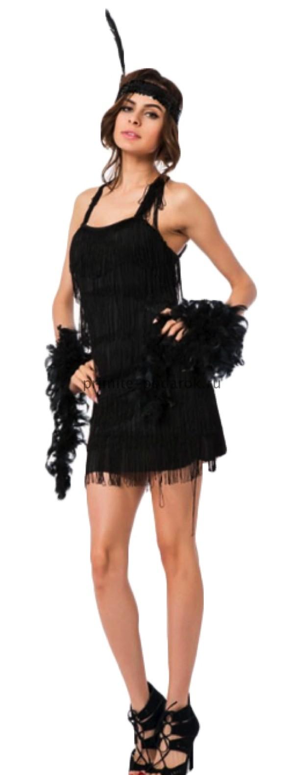 Купить Платье В Стиле Чикаго В Тюмени