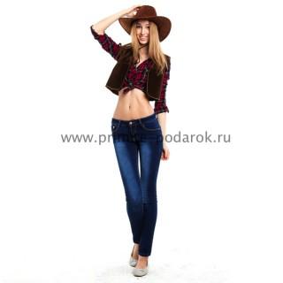 Женский костюм ковбоя