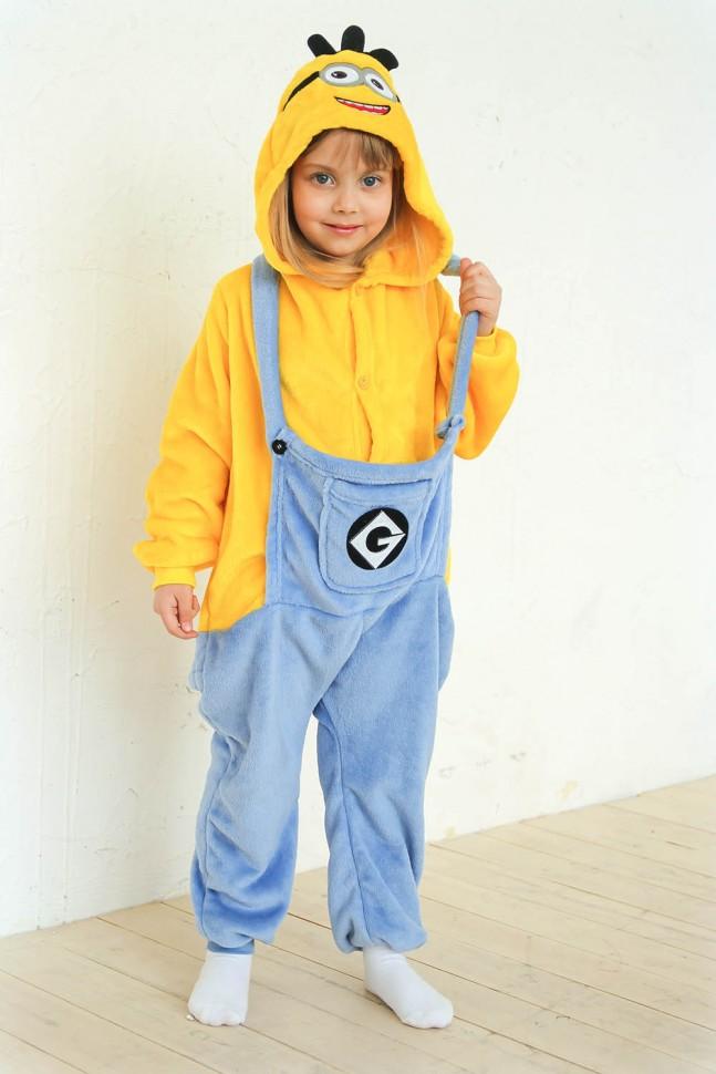 Купить Пижама кигуруми миньон детский по цене 1 699 руб. в интернет ... 9cf447e0dfa90