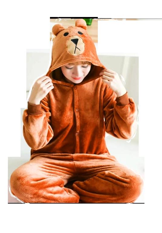 Купить Пижама кигуруми Медведь Мишка 165-170 см по цене 1 699 руб. в ... d733a7a267fbc