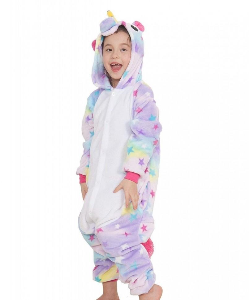 Купить Пижама кигуруми Единорог звездный детский по цене 1 699 руб ... 6df95b4273bb4