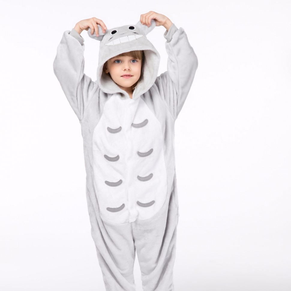 75cdce6aed86 Пижама кигуруми Тоторо кошка детский купить за 1 250 руб.